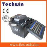 Máquina do Splicer da fusão do arco de Techwin