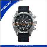 World Trendy Fashion Stainless Steel Caseback Watch Montre-bracelet automatique à 3 mains