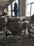 Bouilloire revêtue sanitaire de chauffage au gaz d'acier inoxydable