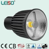 El CRI del CCT no modificó ningún bulbo del funcionamiento para requisitos particulares 6W LED del halógeno de MOQ