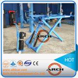 Levage hydraulique de plate-forme d'élévateur de véhicule de ciseaux de deux cylindres (AAE-SS130)