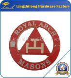 フリーメーソンのデザイン高貴なアーチの金属の剣の紋章