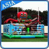 De opblaasbare Werf van de Peuter van de Octopus van het Beeldverhaal van de Huur van de Partij