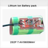 De aangepaste Navulbare IonenBatterij van het Lithium