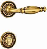 Bloqueos populares de cobre amarillo sólidos de la maneta del europeo/del diseño de Medio Oriente para la puerta de entrada del sitio