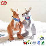 Jouet mou se reposant de kangourou bourré par peluche de la CE de couples de l'Australie