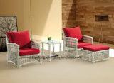 Jogo de café ao ar livre confortável do jardim do lazer por Alumínio com PE-Rattan (YT622)