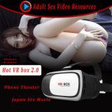 Rectángulo caliente japonés video 2.0 de Vr de la muchacha con el telecontrol