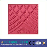 Papel pintado Textured, el panel de pared del MDF 3D para las decoraciones interiores