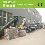 Botella plástica del animal doméstico de la tecnología de Mooge que recicla la máquina