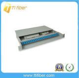 12/24 di caselle terminali ottiche duplex Port della fibra di LC