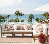 Migliori insiemi di vendita del sofà del giardino del patio della mobilia del teck di alta qualità