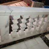 Corrimano di marmo bianco di Bianco Carrara