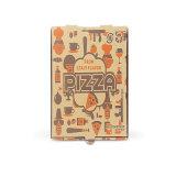 Rectángulo de la pizza del papel del horno del rectángulo de la pizza de Cuizen