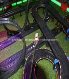 Anziehung, die Spiel-Maschine/Kind-Säulengang laufend, die Spiel-Maschine fahren