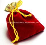 Alta calidad con cordón de terciopelo de la joyería / del bolso de la joyería (Qki-F456)
