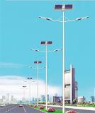 Indicatore luminoso di via solare del LED con il doppio braccio