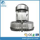 bomba de vácuo elevado lateral do ventilador da canaleta 12.5kw para a máquina dos tecidos do bebê usada