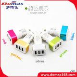 Carregador do carro de potência do USB do telefone móvel 3 multi para o iPhone 5 6 7