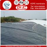 HDPE Geomembrane para la charca del camarón o de pescados como trazador de líneas