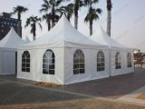 Il PVC esterno ha decorato la tenda del Pagoda per gli eventi di cerimonia nuziale