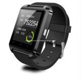 Montre intelligente intelligente androïde en gros de la montre U8 de Bluetooth U de montre pour la vitesse de galaxie de Samsung