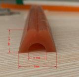Verschiedene Form-hitzebeständige Strangpresßling-Silikon-Gummistreifen