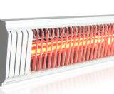 Calentador infrarrojo al aire libre elegante montado del calentador 1500W de Bluetooth de los calentadores del patio