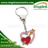 Anello chiave placcato argento per i regali degli amanti