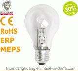 Lampe d'halogène d'A60/A19 220V-240V 18W E27/B22 Eco