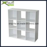 Rectángulo de madera simple del cubo de 9 casos