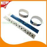 Bracelets de papier faits sur commande d'identification de l'usager VIP de divertissement de Tyvek (E3000-1-53)