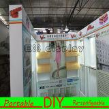 Portátil e fácil instalar a cabine modular flexível padrão da feira profissional de DIY