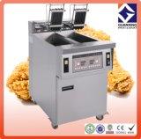 Les prix continus de beignet/pomme de terre de vente de matériel chaud de cuisine ouvrent la friteuse/restaurant faisant cuire la friteuse ouverte
