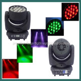 diodo emissor de luz Beam Moving Head Light de 19PCS 12W Osram com Zoom