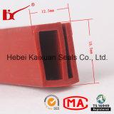 Tira do selo da borracha de silicone do forno da resistência térmica da forma de E