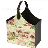 Stilvolle Pappe-Zeitschriften-Zahnstangen-Handtasche für täglichen Gebrauch