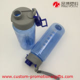 bottiglia di plastica del PC libero ecologico 750ml con la scala