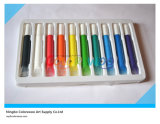 10*10.5ml Flat Nail Glass Paint voor Students en Kids