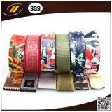 ceintures tressées en tissu de mode unisexe