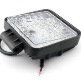 Luz de trabajo cuadrada auto de la iluminación 27W LED de China para la luz del coche