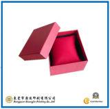 Het Verpakkende Vakje van het Document van de Juwelen van de rode Kleur (gJ-Box497)