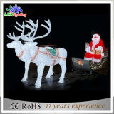 3DアクリルのクリスマスLEDのトナカイのアクリルライト