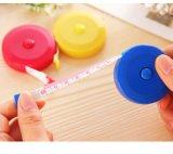 150 рулеток Cm цветастых карманных пластичных круглых Tapeline