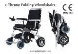 E-Trône 8 '', 12 '' approuvé par le FDA de la CE ! Version neuve ! 1 pliage de seconde/fauteuil roulant électrique pouvoir pliable/portatif approuvé par le FDA,