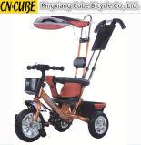 Трицикл младенца прогулочной коляски младенца надувательства Китая 2016 горячий