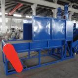 Animale domestico di plastica residuo che schiaccia lavaggio riciclando la macchina di produzione
