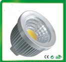 3W COB LED Spotlight GU10 LED Bulb