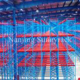 Industrielle Lager-Speicher-Ladeplatten-Zahnstange