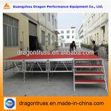Plataforma de aluminio de la etapa, etapa portable, etapa Wedding para las ventas